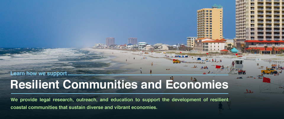 Resilient Communities and Economies